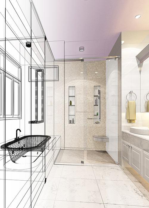 Badkamer verbouwen door de installateur uit Rucphen